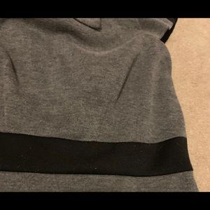 London Times Dresses - Black and gray dress... great for work!